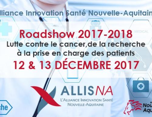 Roadshow ALLIS NA – Etape 1 – Limoges – 12&13 décembre 2017
