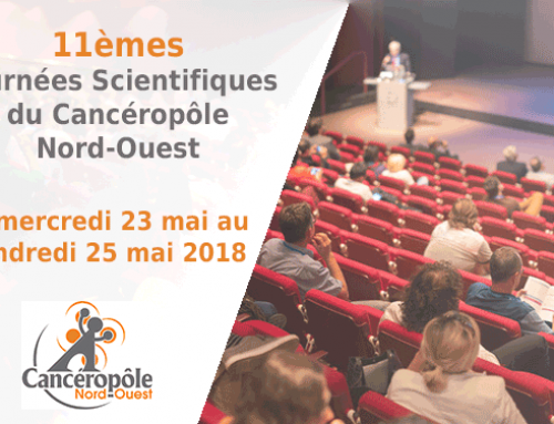 11th scientific days of Cancéropôle Nord-Ouest