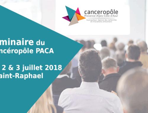 Canceropôle PACA Seminar 2018