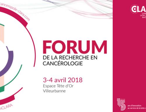 Forum de la Recherche en Cancérologie Auvergne-Rhône-Alpes