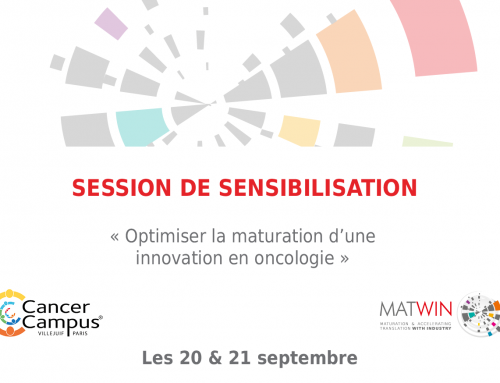 Session de sensibilisation – MATWIN & CANCER CAMPUS
