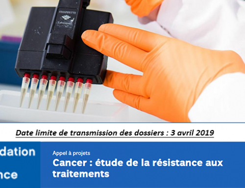 Call for projects Fondation de France – Cancer: study of resistance to treatments