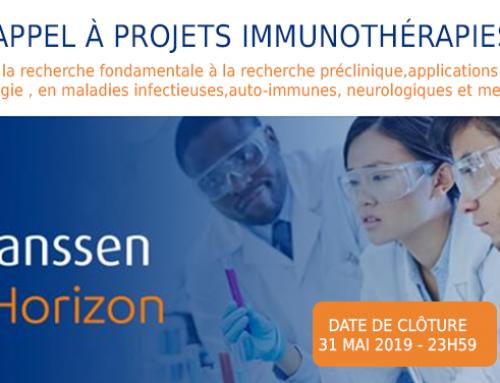 Appel à projets sur l'immunothérapiedu fonds de dotation Janssen Horizon
