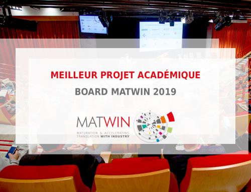CDK4PPI élu « meilleur projet académique » par le board MATWIN