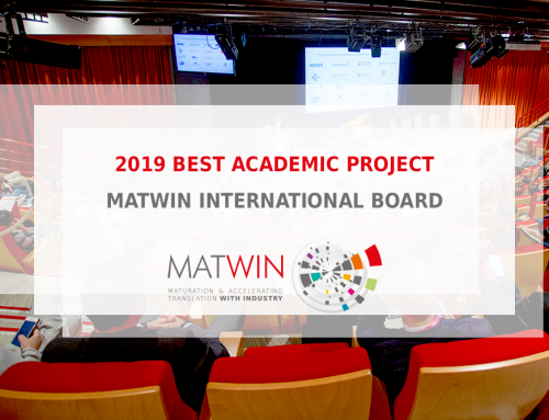 CDK4PPI awarded « 2019 best academic project » by the MATWIN international board