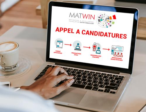 Appel à candidatures MATWIN