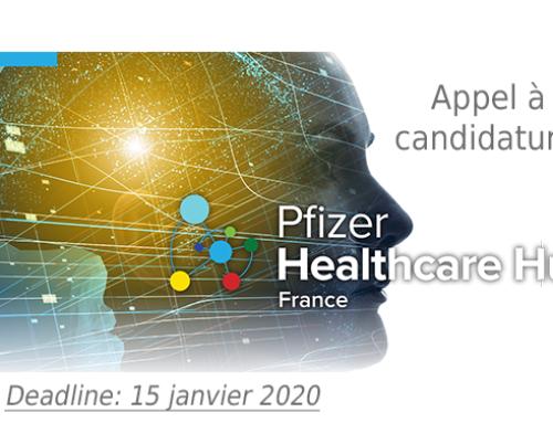 Pfizer Healthcare Hub France lance son appel à candidature pour une 2ème édition
