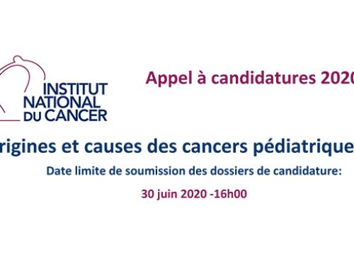AAP INCa Origines et causes des cancers pédiatriques