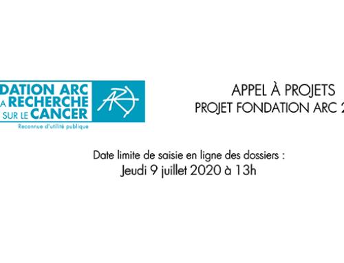 Projets Fondation ARC 2020