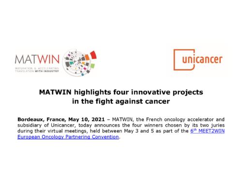 PR: MATWIN highlights four innovative projects in the fight against cancer